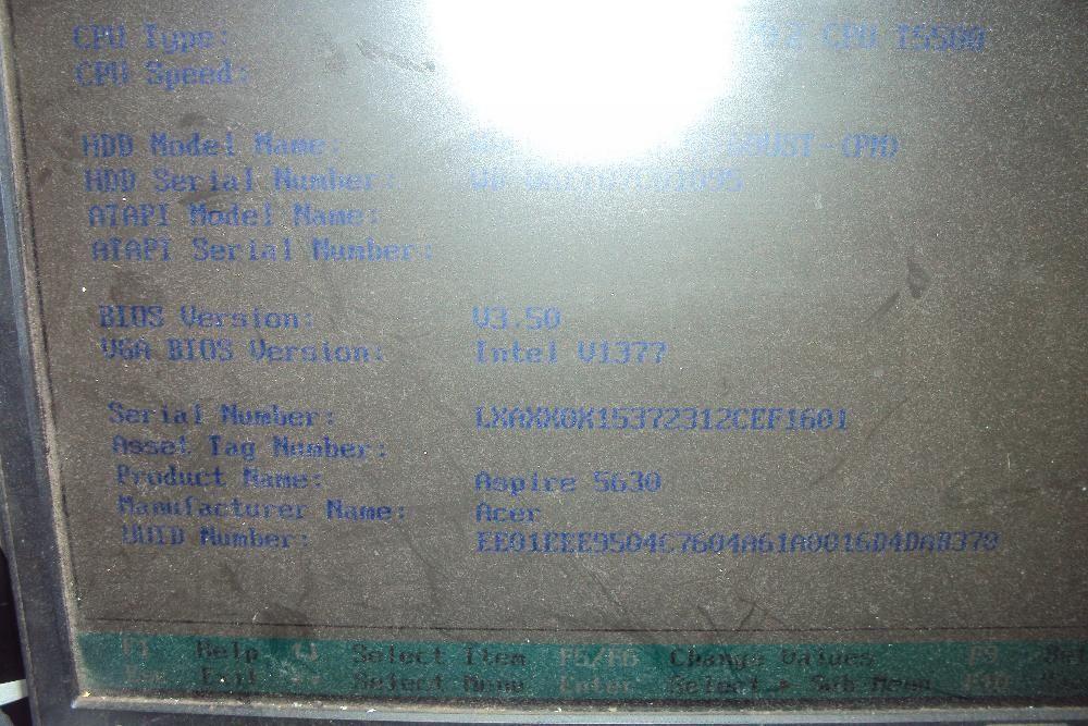 Дъно,Дънни платки за лаптоп , Aser Aspire 5630