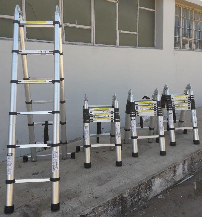 Escadotes telescópicos de alumínio de alta qualidade Modelo KME3038
