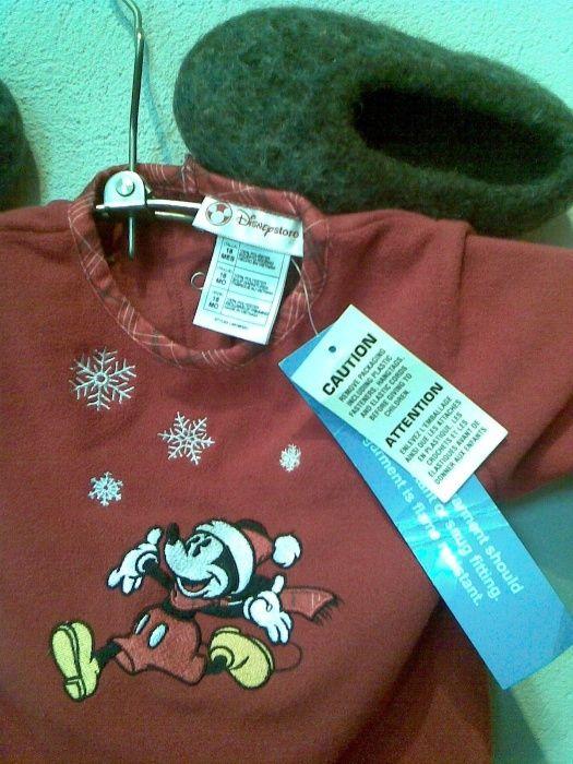 """Нов с етикет на """"Уолт Дисни"""" прекрасен гащиризон с Мики Маус за 2год"""