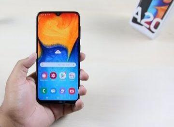 Samsung A20/novo na caixa!