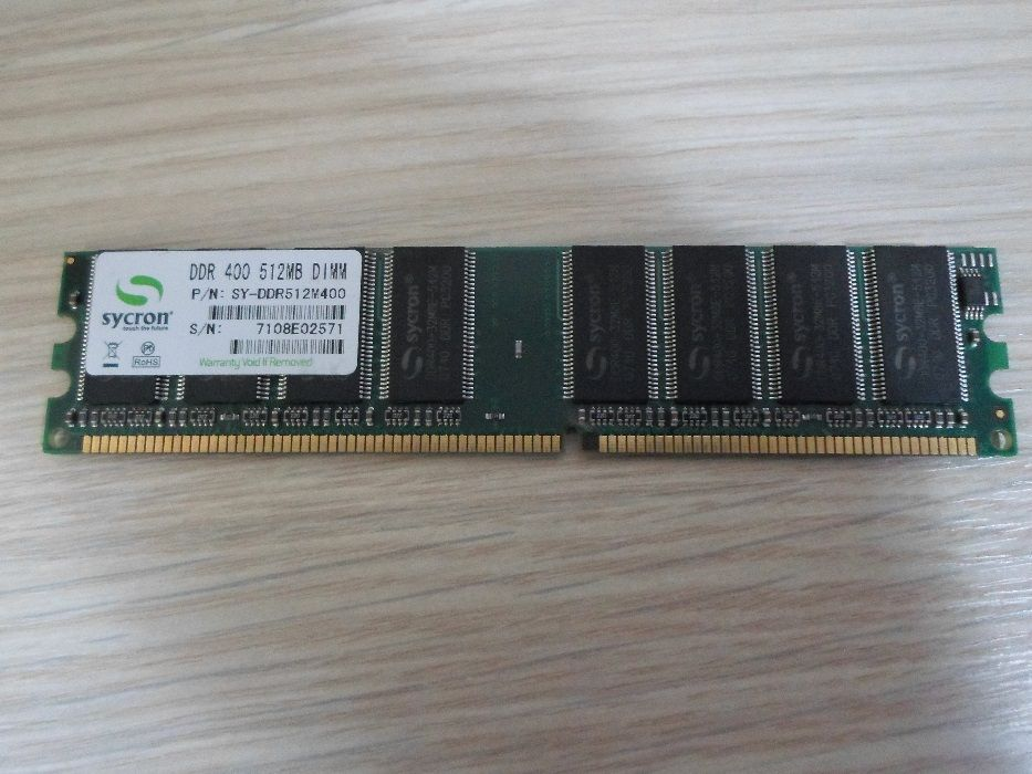 Memorie placuta RAM512 DDR1 SYCRON