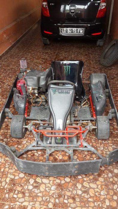 Kart motor 4 tempos, com motor novo de reserva