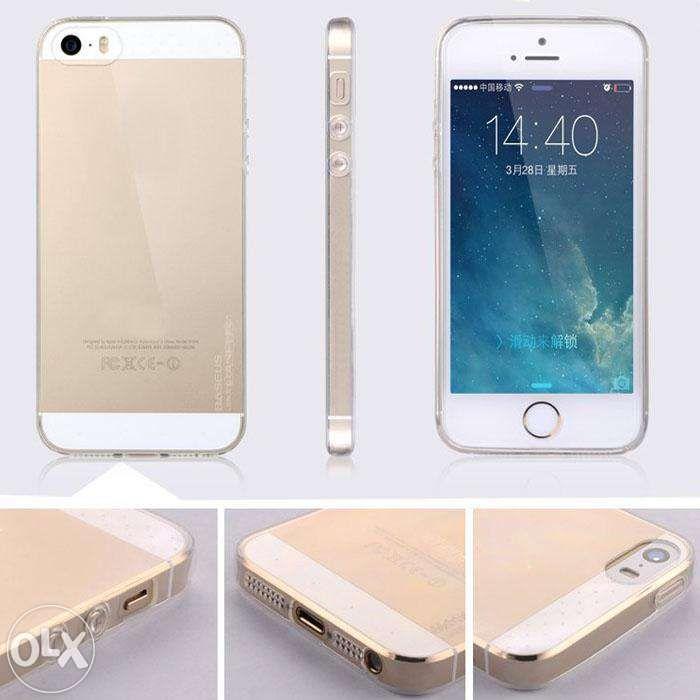 Iphone 5/5s/6/6s/6 Plus - Husa Super Subtire Rezistenta Transparenta