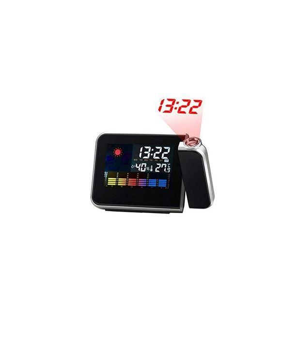 Ceas electronic cu proiectie ora/temperatura/umiditate /alarma