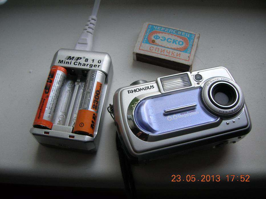 Цифровой компактный фотоаппарат «RHOMBUS» 6,6 Mp