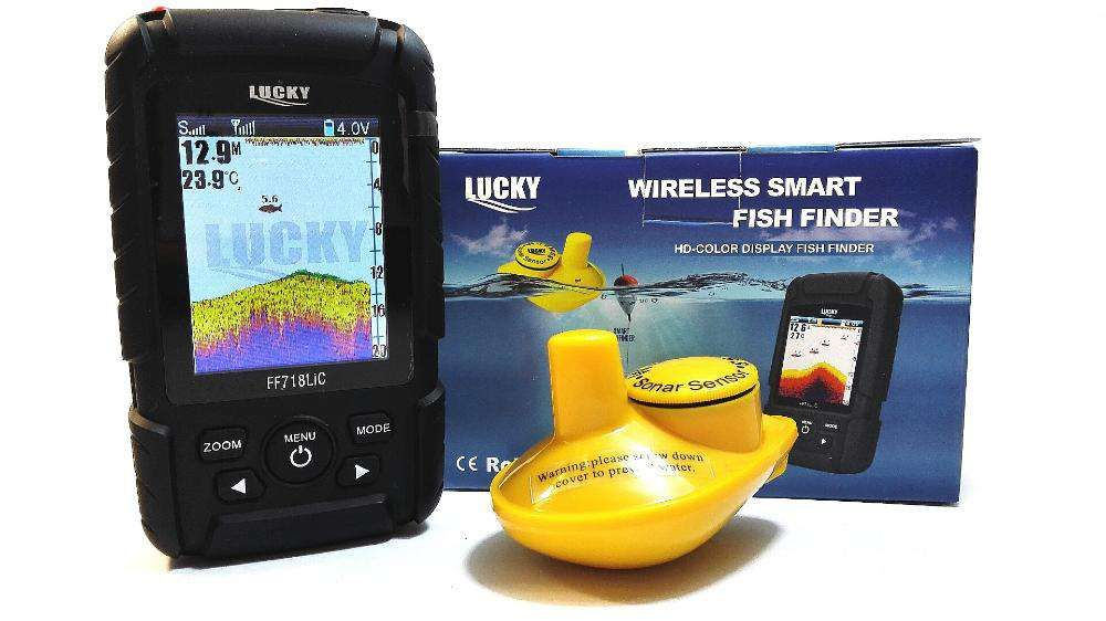 5063NEW MODEL Waterpoof Wireless Fishfinder Fish finder FULL COLOR