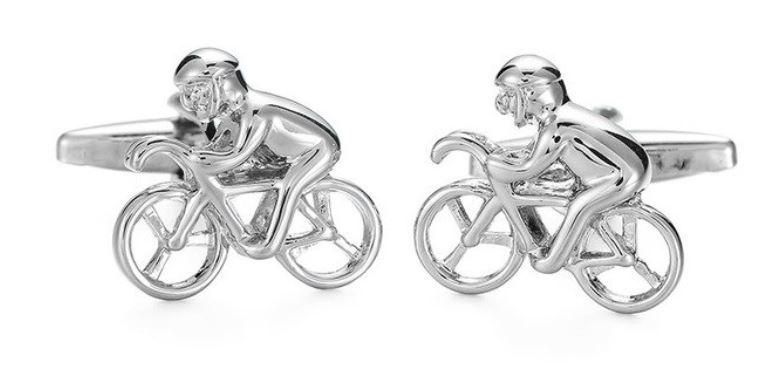 Butoni camasa barbati - bicicleta / moto - cadou Craciun