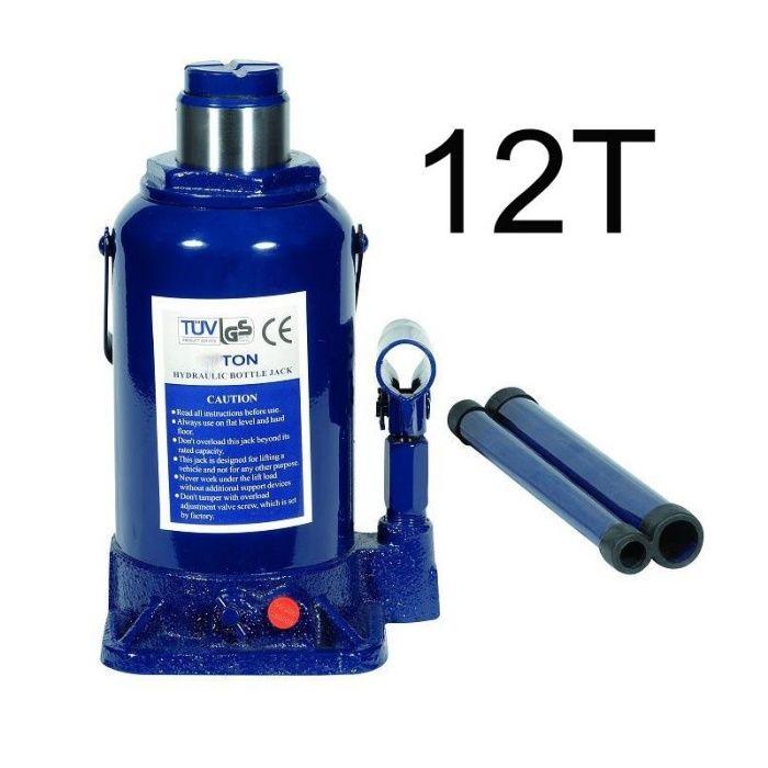 Cric hidraulic cilindric tip butelie 12T