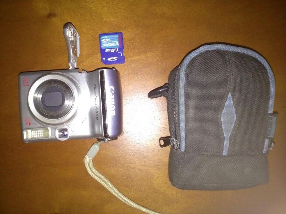 Aparat foto Canon Power Shot A550