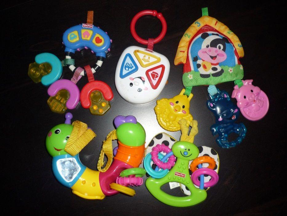 Огромен лот детски играчки - Фишер Прайс, Нуби, Vtech и други