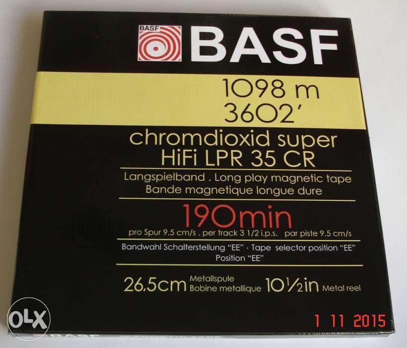 Cutie BASF, AKAY, TEAC, AGFA, SONY rola magnetofon 26,5 cm