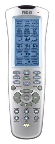 RCA RCU900 8-Device LCD touch screen learning universal remote control