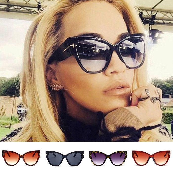 Разпродажба-50% TOM FORD Дамски сълчеви очила UV400 защита