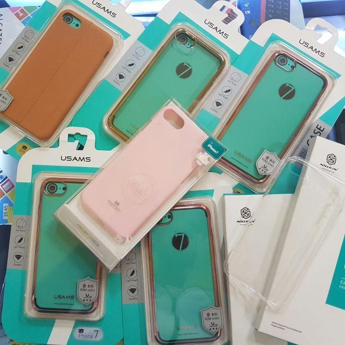 Huse iphone 8 iphone 7 iphone 8 plus 7 plus silicon flip si folie