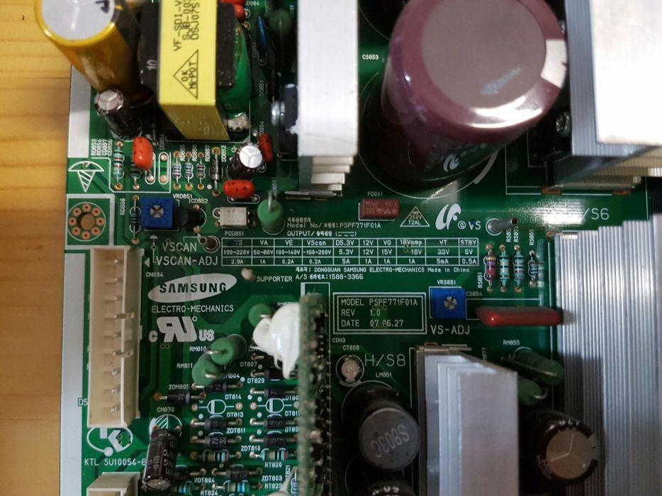 """Placa de baza sursa TV Samsung 63 """""""
