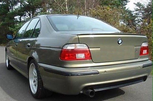 Лип спойлер БМВ Е39 BMW E39 schnitzer М5 като оригинален лип заден 530