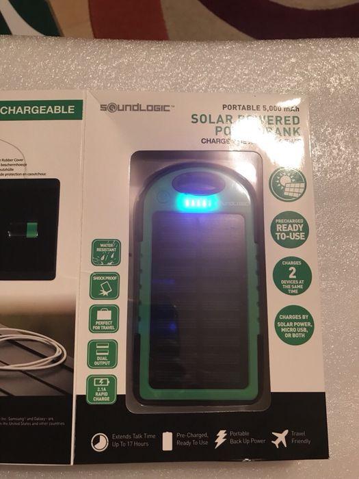 baterie externa solara 5000 mAh
