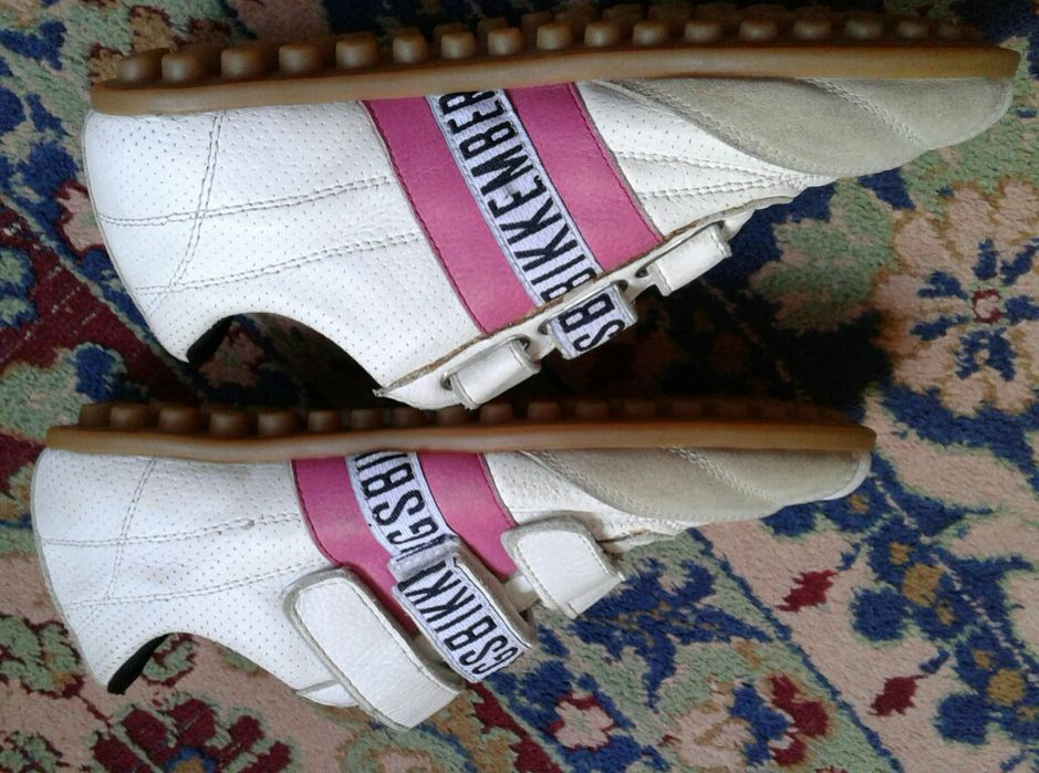 Pantofi sport Bikkembergs nr. 36, noi, piele naturală