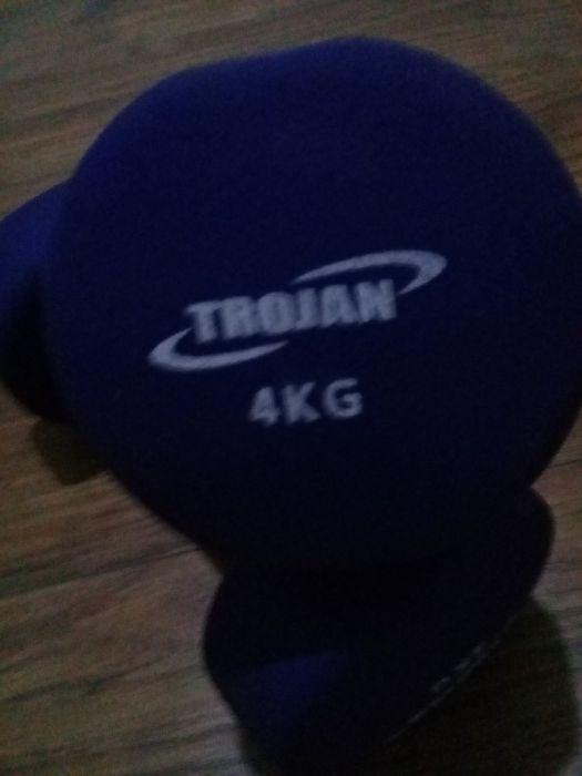 2 Trojan Dumb bells 4kg