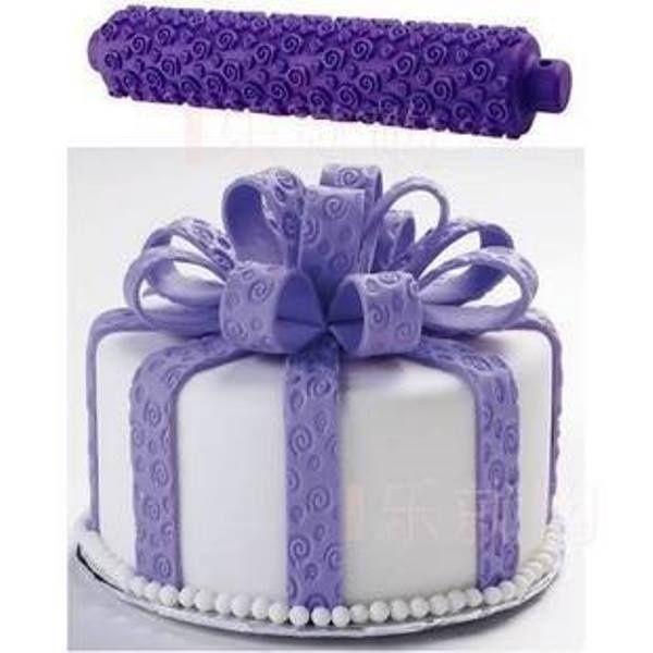 Текстурная скалка для мастики