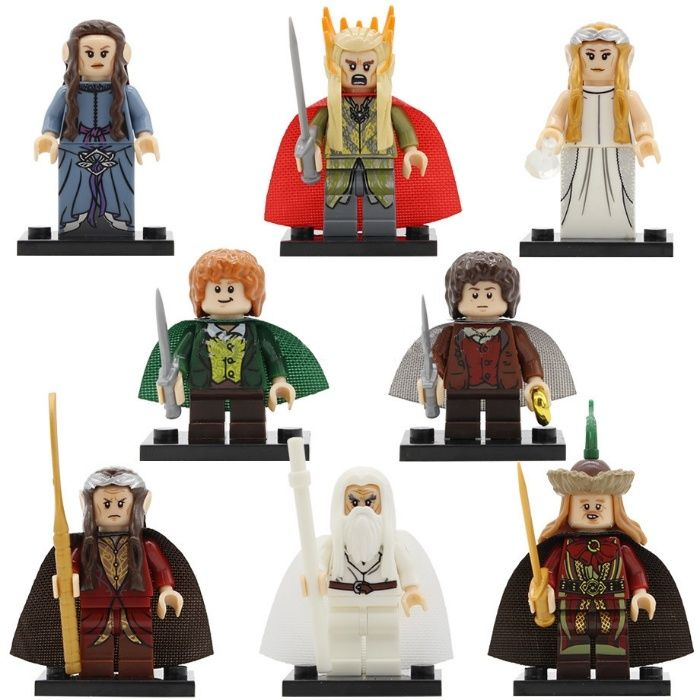 Set 8 Minifigurine noi tip Lego Lord of the Rings pack1