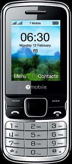 Promoção de telemóvel 7mobile dallas novo na caixa