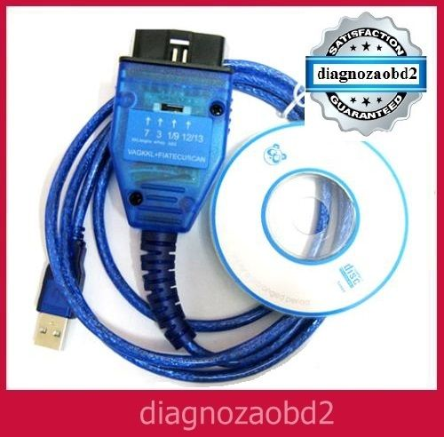 Tester auto Fiat ECU SCAN interfata diagnoza K-line, V3.5 lb. Romana Braila - imagine 1