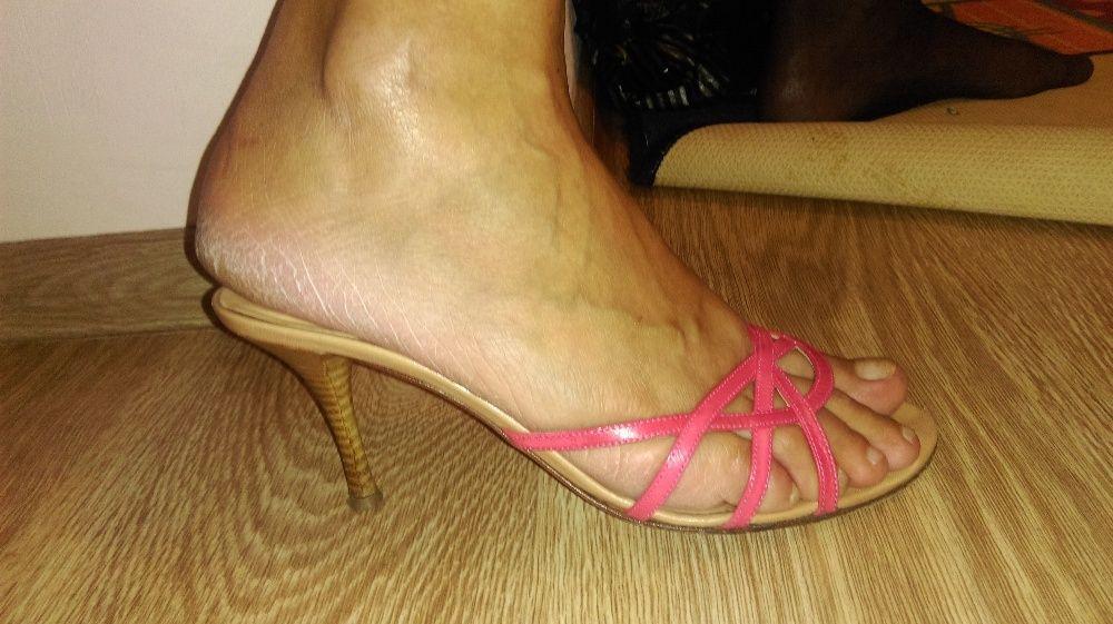 Летни сандали на ток