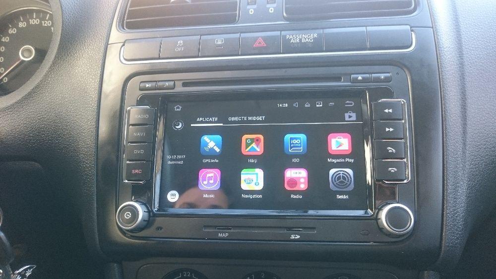 Navigatie VW Golf Passat Jetta Tiguan EOS Android 7.1 platforma S190