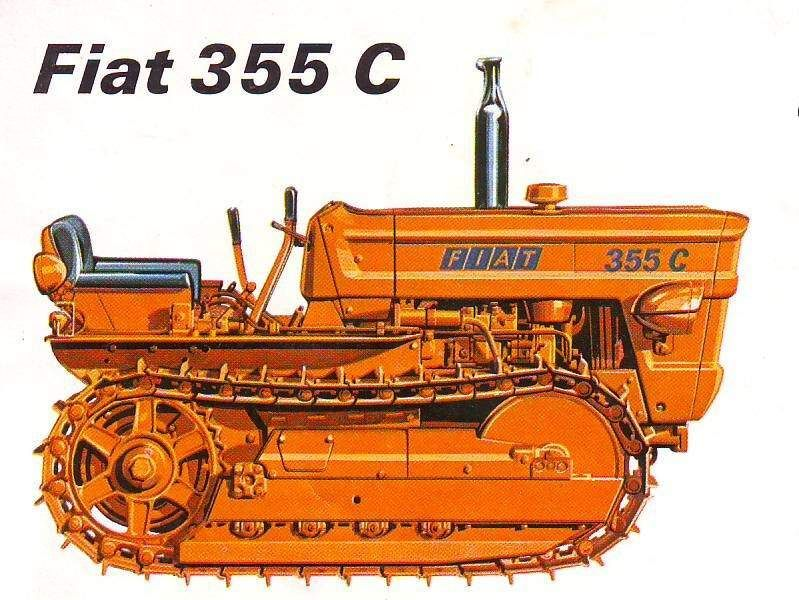 Manual service reparatii tractor Fiat 355C/455C/505C/605C senilat