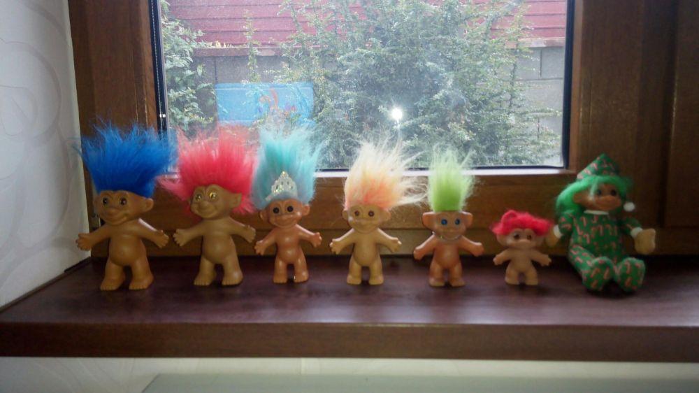 Jucării Trolls 7 bucati