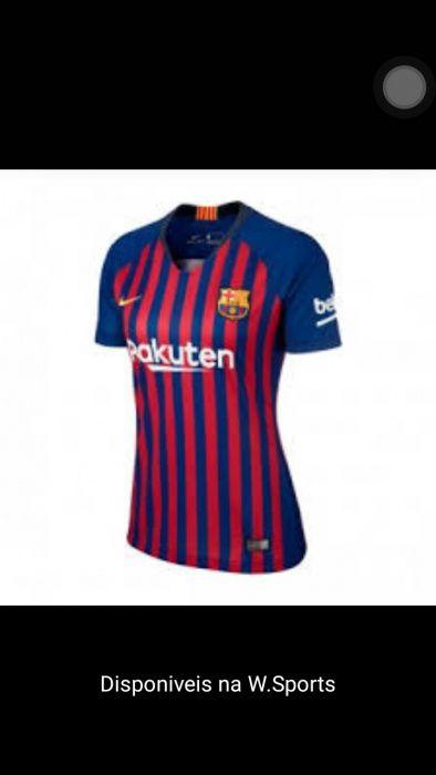 Camiseta do Barcelona Feminina Alto-Maé • olx.co.mz 45fbc843adb77