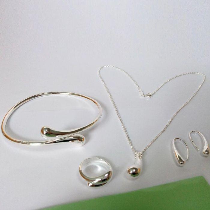 Нов сребърен комплект от 4 части гр. Пловдив - image 2