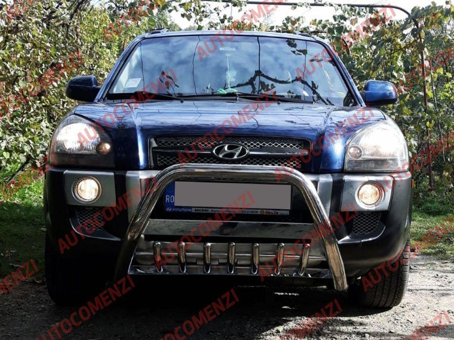 Bullbar inox universal DACIA Duster/LAND ROVER/Pajero/ Toyota/Tucson Pitesti - imagine 3