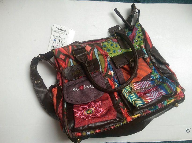 Handbag Desigual nou, cu eticheta