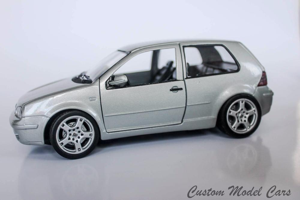 Умалени модели на VW Golf 4 в мащаб 1/24 по поръчка! гр. София - image 2