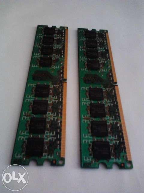 2 Memorii DDR 3 pentru calculator