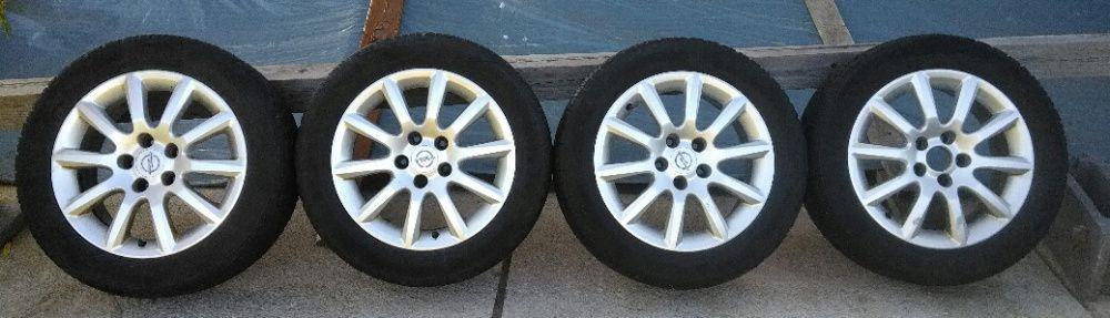 Jante Opel R16 + anvelope de iarna 205 55 R16 Continental