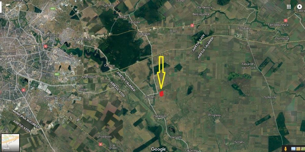 Vanzare  terenuri constructii Ilfov, Cernica  - 5 EURO
