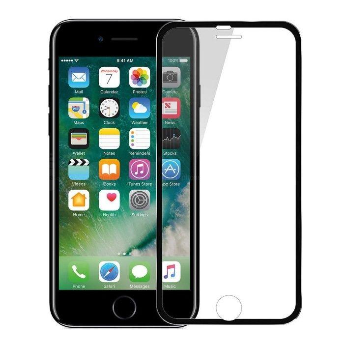 Folie 3D cu rama metalica Elegance Luxury Black pentru Apple iPhone 5