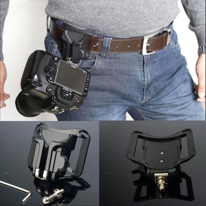 VONOTO DSLR Camera Holster Hard Plastic waist belt - Suport Prindere