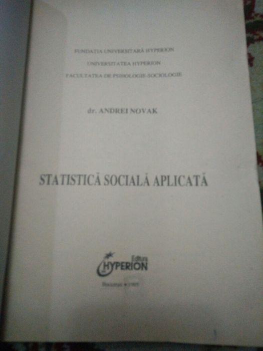 Statistica sociala aplicata
