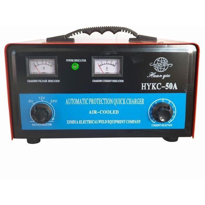 Зарядно акумолатор 50 ампера 6-24 V