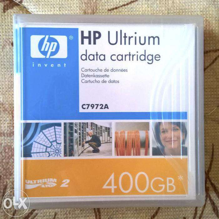 HP LTO Ultrium2 Data Cartridge 400GB (C7972A)