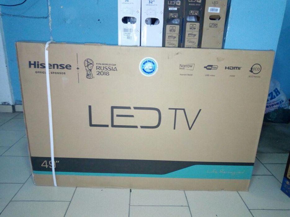 Promoção de tvs hisense LED FULL HD 50 polegadas novas
