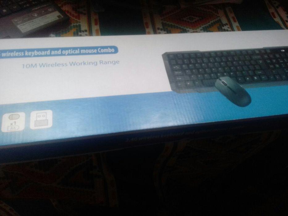 Kit de teclado e mouse wireless Maputo - imagem 5