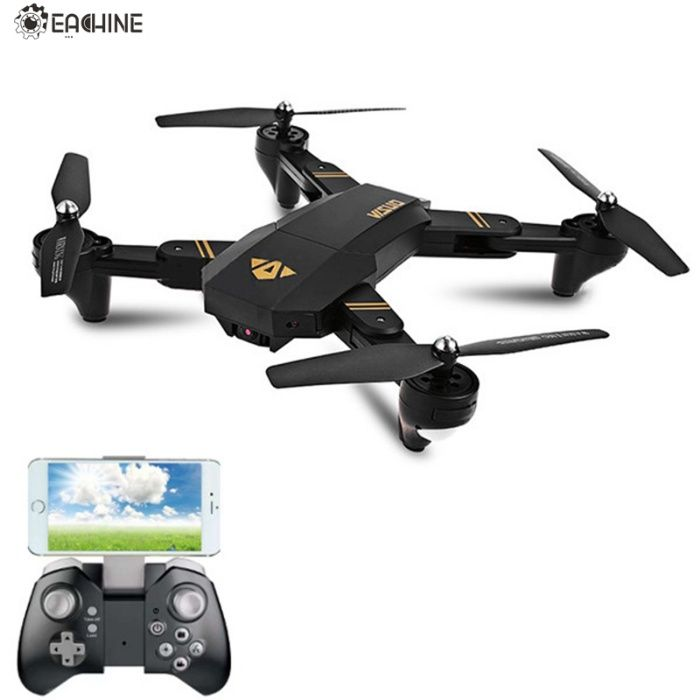 NOVO na caixa-Drone XS809HW WIFI FPV com Camera HD de 2.0MP-720p