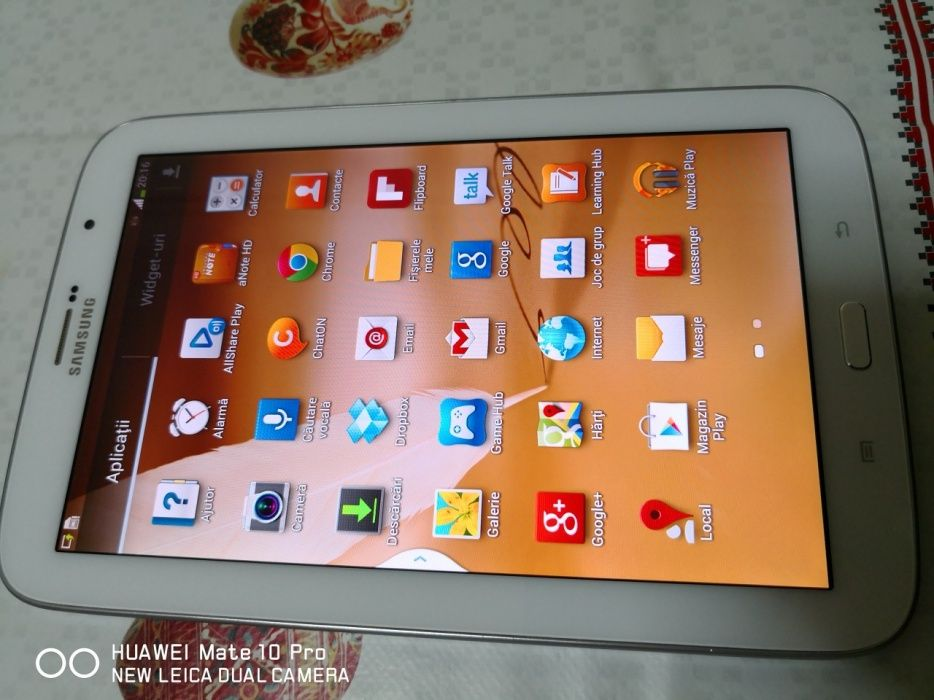 Tab Samsung note 8..