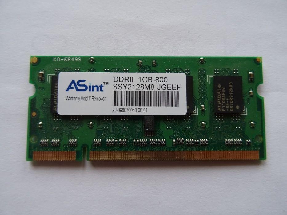 Asint 1GB DDR2 800MHz RAM - за Лаптоп