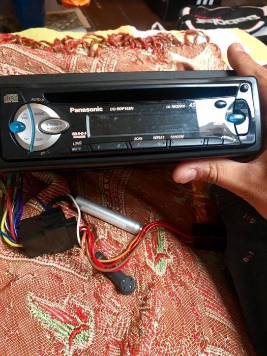 Panasonic музика за кола